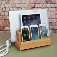 G.U.S. Ultra Charging Station with Power Strip for Smartphones, Tablet & Laptop