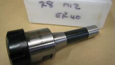 ER40 x R8 COLLET HOLDER. COLLET CHUCKS FOR MILLS. ER40 HOLDERS