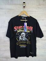 vegoors  90s style stuck Forever Horror Graphic Vtg T shirt refA13 med