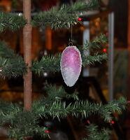 Vintage Christmas Dresden  Pine Cone Cardboard Ornament - around 1920  (# 6738)