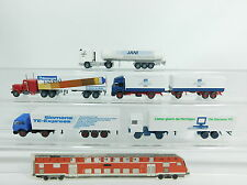 BB802-0,5# 5x Wiking H0 CAMION: Mercedes+Ford+Scania Jani+Iveco+Laque Truck, W