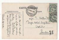Switzerland TPO Postmark Ambulant Montreux Zweisimmen 31 Dec 1906 Postcard 203c