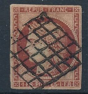 [7567] France 1849 good stamp very fine used value $1200