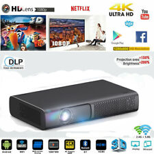 More details for dlp android 4k wifi home theater projector 3d 9000lumen cinema hdmi usb hd 1080p