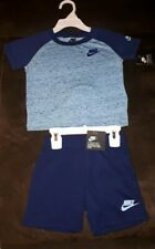 Nike Baby Boy Blue Shorts & T Shirt Set Age 24 months New with tags