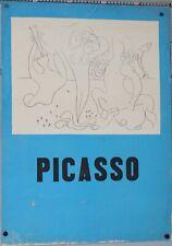 PABLO PICASSO NAISSANCE DE VENUS LITHOGRAPHIE 66 X 50 CM