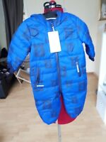 NEW MARKS AND SPENCER KIDS NAVY SNOWSUIT - UK SIZE 6-9 MNTHS