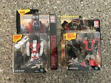 SKYDIVE AIR RAID LOT Transformers Generations Combiner Wars Deluxe Class Comic