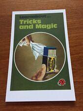 Ladybird Book Themed Postcard - Tricks & Magic - NEW