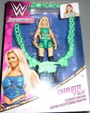 CHARLOTTE FLAIR WWE Mattel Girls Ultimate Fan Pack Figure with Necklace DMG BOX