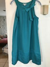 H&M Womens Sleevelss Green Dress Size 10