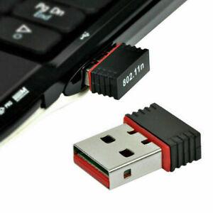 Mini WIFI WLAN Wireless Adapter Stick USB 2.0 802.11n 3211n. 150Mbit IEEE  U8J