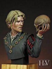 Heroes & Villains Hamlet Prince of Denmark unpainted resin 1/12th Bust kit