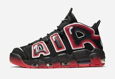 Nike Air More Uptempo'96 Reino Unido 11 EUR 46 Black Crimson Blanco CJ6129 001