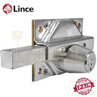 Lince High Security Gate Shed Garage Garden Sliding Dead Bolt Lock Made In Spain