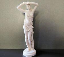 Love deity of the Greek mythology (Decorative Alabaster statue 30cm)
