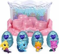 Underwater Aquarium Playset Hatchimals CollEGGtibles Mermal Magic Color Change