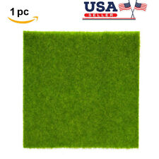 Artificial Turf Grass Synthetic Mat Rug Fake Lawn Indoor Outdoor Landscape Decor
