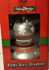 Lionel Christmas Ornament 'Blown Glass Silver Bell' Item #922021