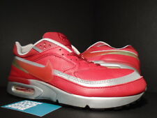 2002 Nike AIR MAX CLASSIC BW LEATHER 1 VARASITY RED SILVER GREY 604176-661 12.5
