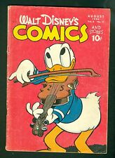 Walt Disney Comics & Stories #71-Golden Age 1946; Donald Duck Vintage; Dell G/VG