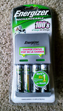 Energizer Battery Charger for AA/AAA - 4 Rechargeable Batteries included 2000mAh