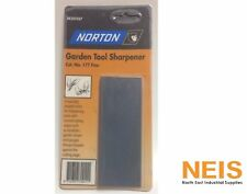 Norton Garden Tool Sharpener Fine Sharpening Stone 40mm x 110mm BE205567 # 177