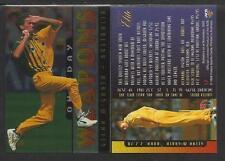 FUTERA 1996 CRICKET ELITE GLENN McGRATH ONE-DAY WEAPONS CARD No 17
