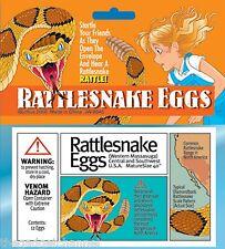FAKE PRETEND RATTLESNAKE SNAKE EGGS JOKE FUNNY BOYS TOY CHILDRENS PRANK GIFT