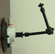 """PUMP CUP WITH FLAT BASE Brand New for Manfrotto 241FB with 11"""" Inch Magic Arm"""