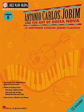 Jazz Play Along Antonio Carlos Jobim Bossa Nova Clarinet Sax Flute Music Book CD