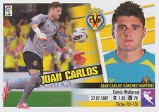 N°01 JUAN CARLOS SANCHEZ  # ESPANA VILLARREAL.CF STICKER PANINI ESTE LIGA 2014