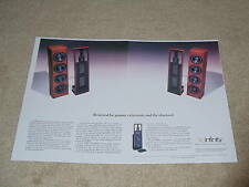Infinity Irs Beta Speaker Ad, 1988, 2 pg, Article, Delta Emit Frame Ready!