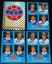 PANINI FOOT 96 LA BERRICHONNE CHATEAUROUX COMPLET FOOTBALL SAISON 1995-1996