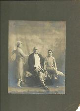 Vintage Photo Scottish Man Kilt Asian Woman Vaudeville Stage Performers
