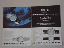 advertising Pubblicità 1965 ETERNA 3000/SAHIDA/KONTIKI