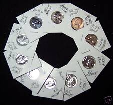 1960-P to 69-S Decade of Proof & SMS Nickels-Beautiful Coins!!!!!!!!!!!!!!