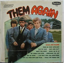 THEM Them Again MEXICO ORG Mono Test Pressing LP VAN MORRISON