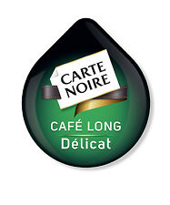 48 x Tassimo Carte Noire Cafe Long Delicat Coffee T-disc (Sold Loose)