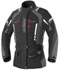 BÜSE Torino pro Damen Textiljacke Motorradjacke Schwarz/anthrazit Gr. 46
