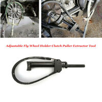 Adjustable Motorcycle ATV Fly Wheel Holder Clutch Puller Extractor Remover Tool