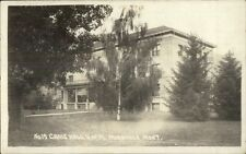 Missoula MT Craig Hall U of M c1915 Real Photo Postcard