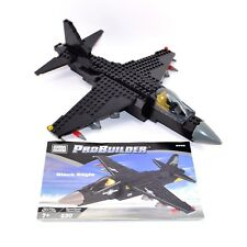 Mega Bloks Pro Builder Black Eagle 9709 Complete No Box