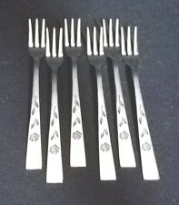 Oxford Hall FLORENTINE ROSE - Cocktail Forks Set of 6