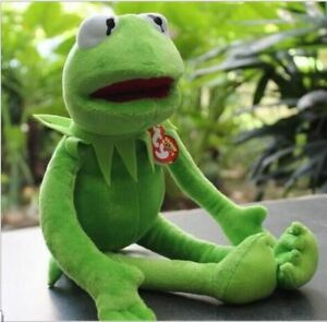 16 Inche Kermit Sesame Street Muppets Kermit the Frog Toy Plush Gift UK