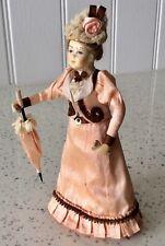 Dolls house miniature 1:12 ARTISAN Victorian Edwardian lady doll JUDITH CIPKIN