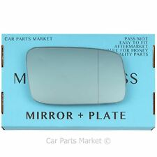 For Volvo s70 v70 1996-2000 Right side Blue Aspheric wing mirror glass +plate