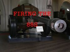 GERMAN ARTILLERY FIRING THE 88s DVD GUN,CANNON,SHELLS COLOR DVD PLUS BONUS DVD