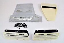 2008-15 Mitsubishi Lancer/Evolution/Ralliart hood scoop and grille kit