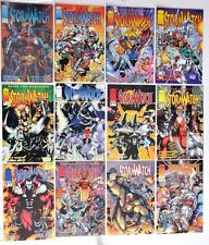 STORMWATCH 1993 IMAGE #0 TO 35+ SPECIAL AND SOURCEBOOK COMP. NM-- 1ST BACKLASH